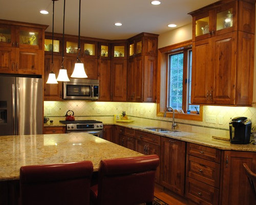 rustic birch kitchen cabinets rustic birch cabinets ideas pictures remodel and decor 25729