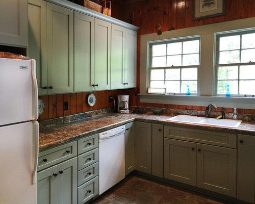 rustic green kitchen cabinets kitchen design ideas renovations amp photos with green 25742