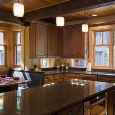 Rustic Kitchen by nancekivell home planning & design