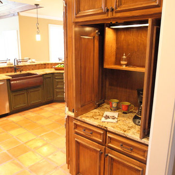 Rustic Charm Kitchen
