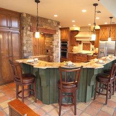 Traditional Kitchen by L&M Interior Design