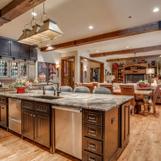 Rustic Kitchen by Designs by K