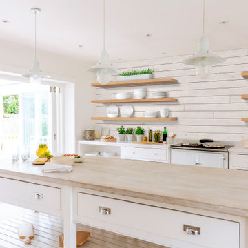 Rustic Collection Shiplap - White