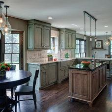 Transitional Kitchen by Brandie McCoy, CKD