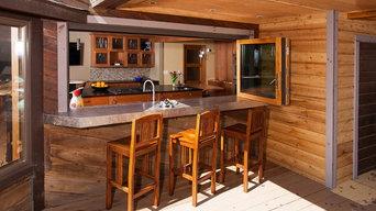 Rustic Contemporary Kitchen