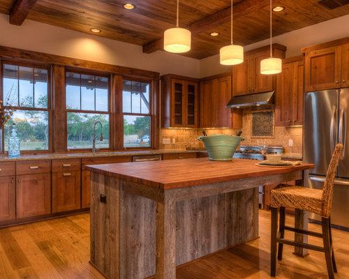 Ideas para cocinas | Fotos de cocinas rústicas en Austin