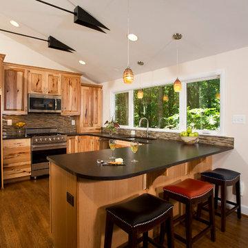 Rustic Contemporary Open Floor Plan in Reston, VA