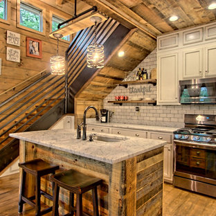 75 Beautiful Small Rustic Kitchen Pictures Ideas Houzz