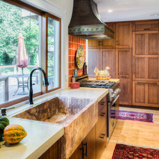 Transitional Kitchen by Gilmans Kitchens and Baths