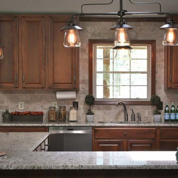 Rustic, country kitchen
