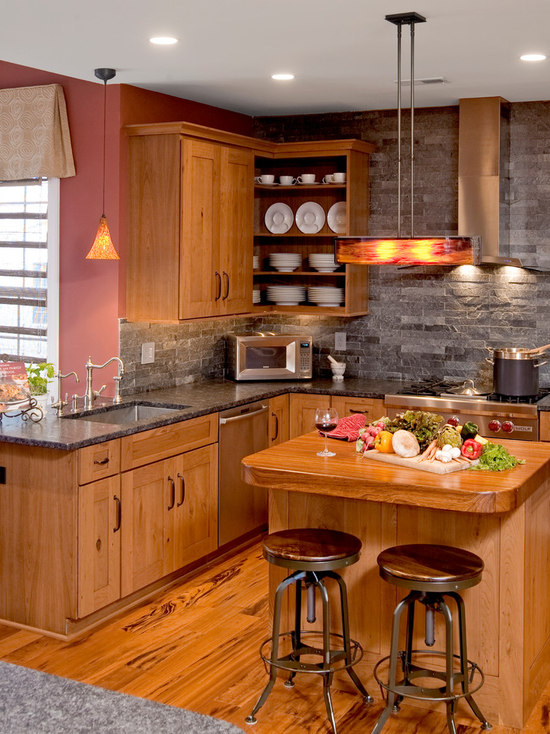 Slate Backsplash | Houzz