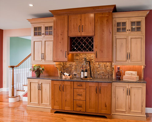 Knotty Maple Cabinets