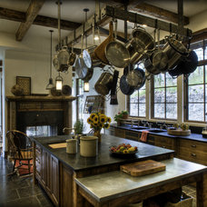 Eclectic Kitchen by Bear Mountain Builders