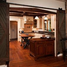 Farmhouse Kitchen by Steven Paul Whitsitt Photography