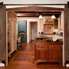 Farmhouse Kitchen by Steven Paul Whitsitt Photography