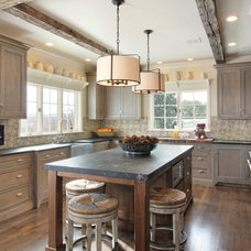 Rustic Kitchen by Ernst Brothers