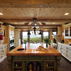 Rustic Kitchen by Dan Waibel Designer Builder