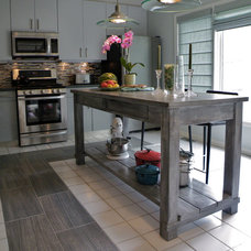 Traditional Kitchen by Rustic Elements Furniture
