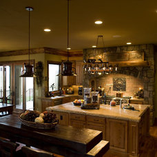 Eclectic Kitchen by Rentfrow Design, LLC