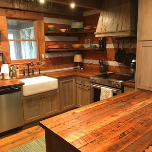Rustic FarmHouse Kitchen Design