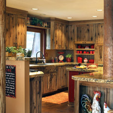 Farmhouse Kitchen by Woodland Cabinetry