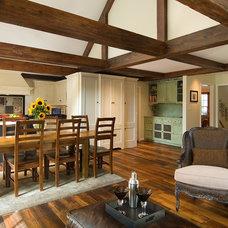 Rustic Kitchen by Anthony Wilder Design/Build, Inc.
