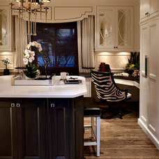 Traditional Home Office by Rejoy Interiors, Inc.