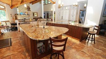 Rustic, Grand Modern Kitchen