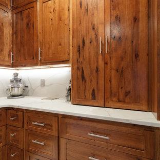 Rustic Hickory Custom Kitchen