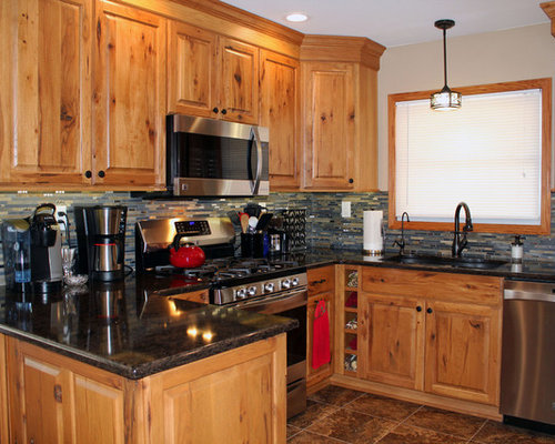 Medium Sized Rustic Kitchen Design Ideas, Renovations & Photos