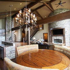 Rustic Kitchen by Architectural Justice