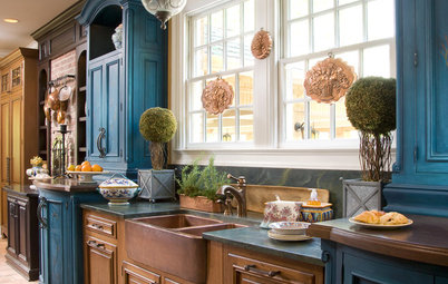 Kitchen Sinks: Antibacterial Copper Gives Kitchens a Gleam