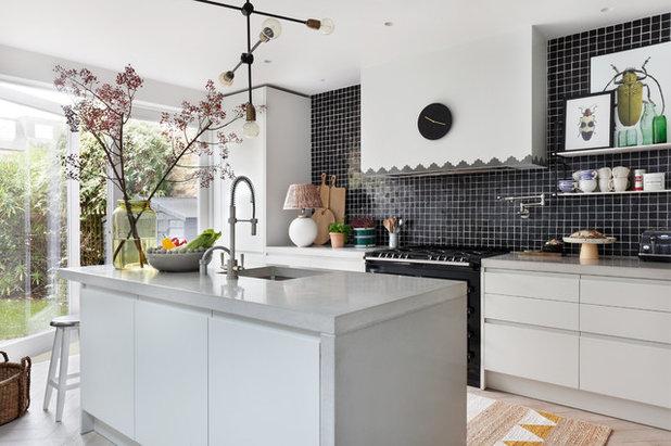 Contemporary Kitchen by Intervari