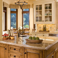 Rustic Kitchen by Andrea Bartholick Pace Interior Design
