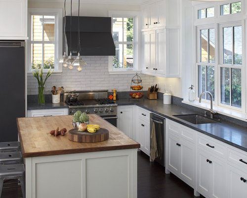 Rustic White Kitchens rustic white cabinets | houzz