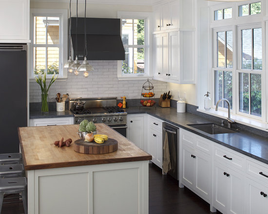 White Rustic Kitchen Cabinets rustic white cabinets | houzz