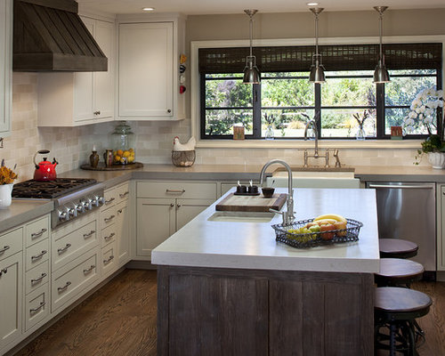 kitchen countertops and backsplash pictures rustic island houzz 7900