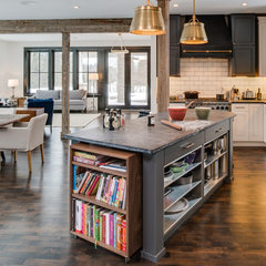 contemporary kitchen by Bay Cabinetry & Design Studio