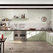 Rustic Kitchen by Benjamin Moore