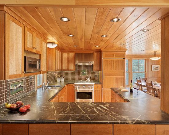 G Shaped Kitchen Design g shaped kitchen | houzz