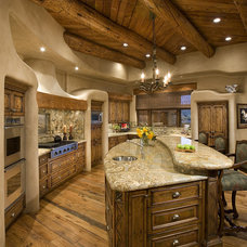 Rustic Kitchen by Bess Jones Interiors