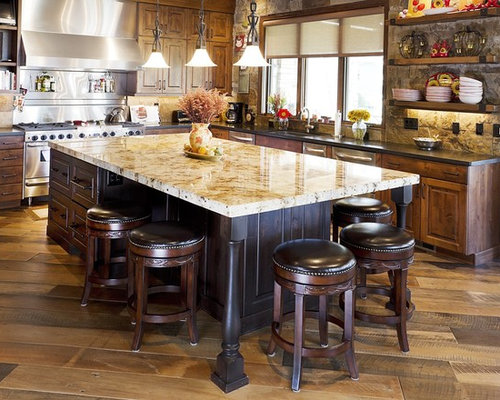 Traditional Kitchen Idea In Denver With Stainless Steel Appliances