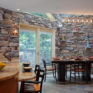 Rustic Kitchen Breakfast Room