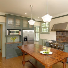 Traditional Kitchen by Charlie Allen Renovations, Inc.