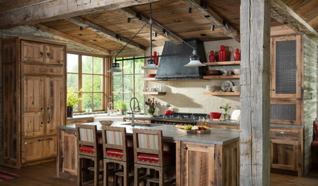 New This Week: 3 Rustic-Inspired Kitchens