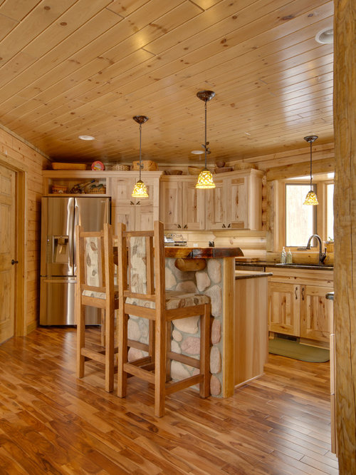Hickory Kitchen Cabinets Home Design Ideas, Pictures, Remodel and ...
