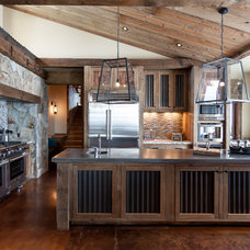Rustic Kitchen by High Camp Home