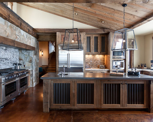 best rustic kitchen design ideas remodel pictures houzz - Rustic Style Kitchen Designs