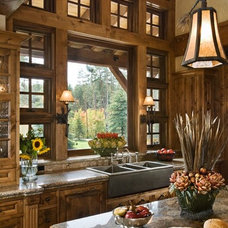 Traditional Kitchen Rustic Kitchen