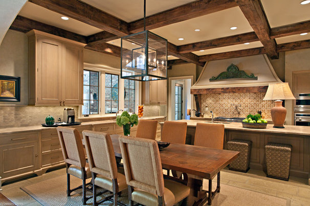 Rustic Kitchen by Jason Arnold Interiors